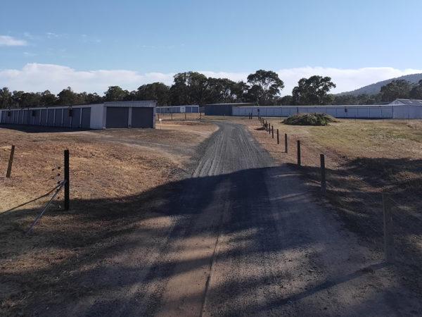 Storage-driveway
